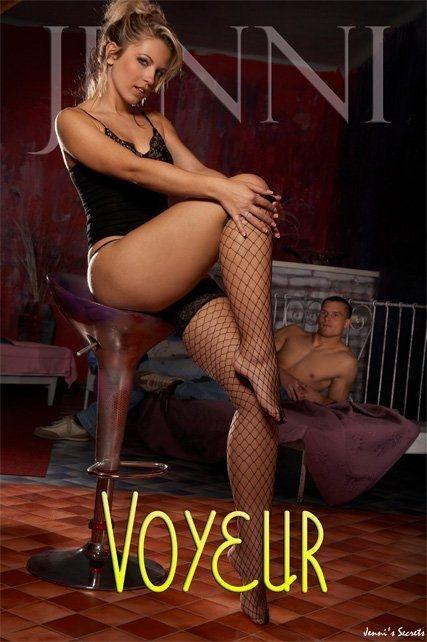 Jenni - `Voyeur-1` - by Glamshots for JENNISSECRETS