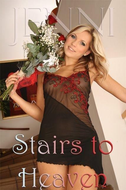 Jenni - `Stairs to Heaven-1` - by George for JENNISSECRETS