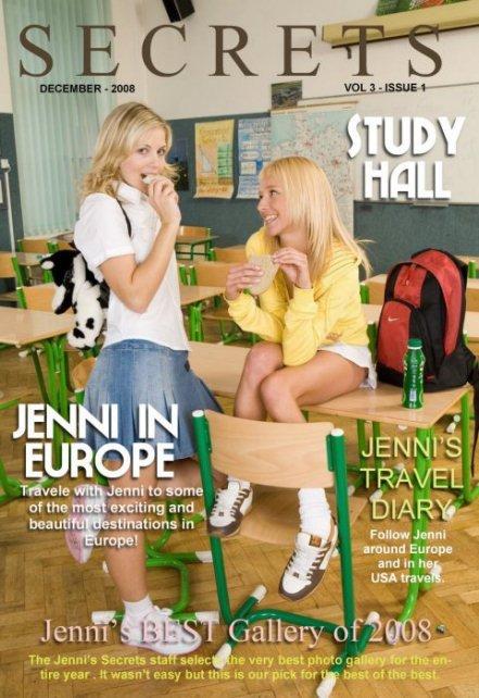 Jenni - `Secrets Magazine` - by Walter Adams for JENNISSECRETS