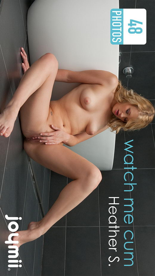 Heather S - `Watch Me Cum` - for JOYMII