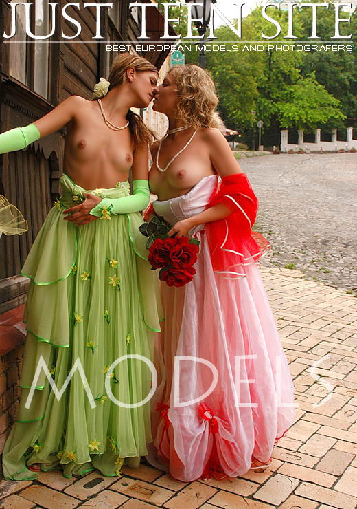 Olya & Mira - `Models` - for JTS ARCHIVES