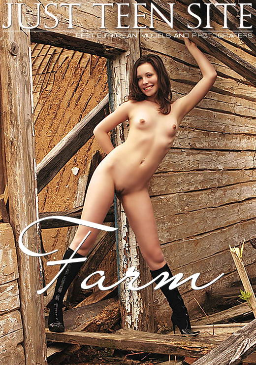 Dasha in Farm gallery from JTS ARCHIVES by V. Nikonoff