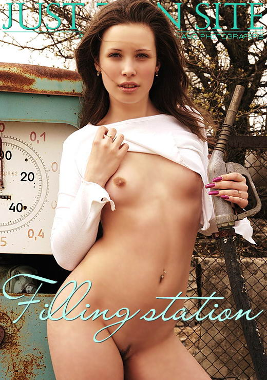 Dasha - `Filling Station` - by V. Nikonoff for JTS ARCHIVES
