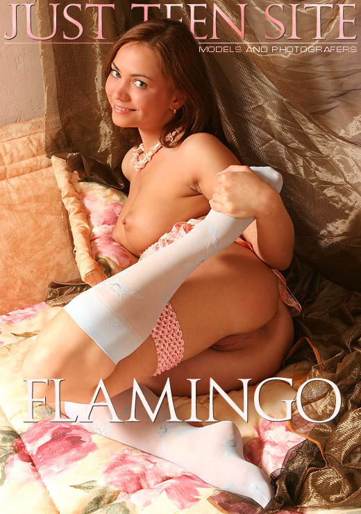 Julia - `Flamingo` - by Stewart Summer for JTS ARCHIVES