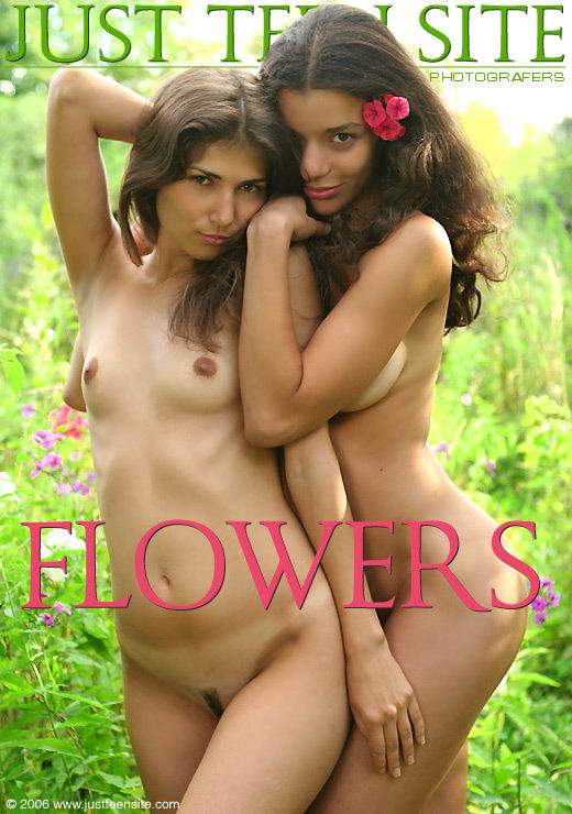 Kristie & Inga in Flowers gallery from JTS ARCHIVES by Stewart Summer