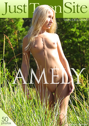 Amely - `Amely - (final cover)` - by Anton Zarin for JTS ARCHIVES