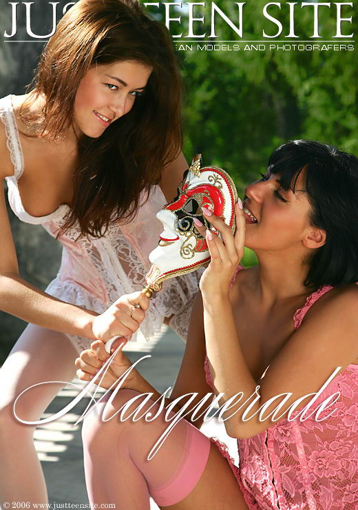 Evgeniya & Anna - `Masquerade` - by Eduard Frolov for JTS ARCHIVES