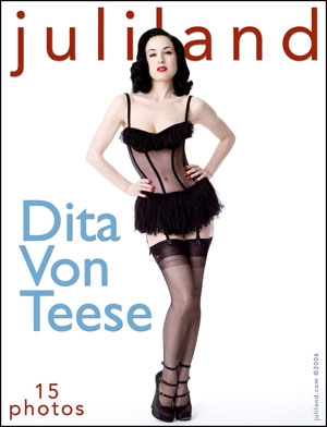 Dita Von Teese - `001` - by Richard Avery for JULILAND