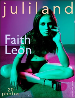 Faith Leon - `001` - by Richard Avery for JULILAND