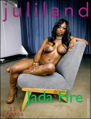 Jada Fire - `007` - by Richard Avery for JULILAND