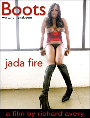 Jada Fire - `Boots` - by Richard Avery for JULILAND