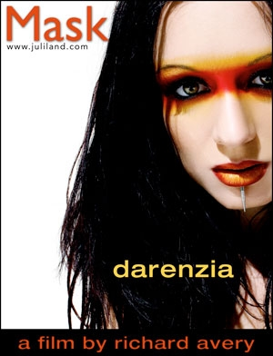 Darenzia - `Mask` - by Richard Avery for JULILAND