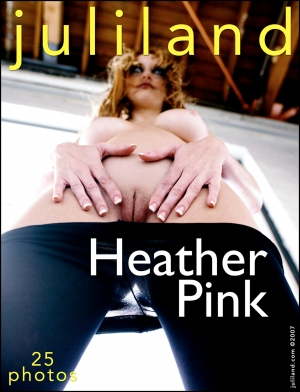 Heather Pink - `002` - by Richard Avery for JULILAND
