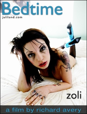 Zoli in Bedtime video from JULILAND by Richard Avery