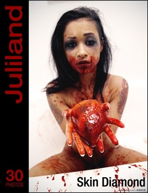 Skin Diamond - `007` - by Richard Avery for JULILAND