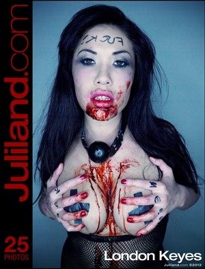 London Keyes - `002` - by Richard Avery for JULILAND