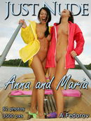 Anna & Maria in Boat gallery from JUST-NUDE by Alexander Fedorov