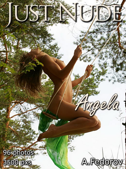 Angela - by Alexander Fedorov for JUST-NUDE