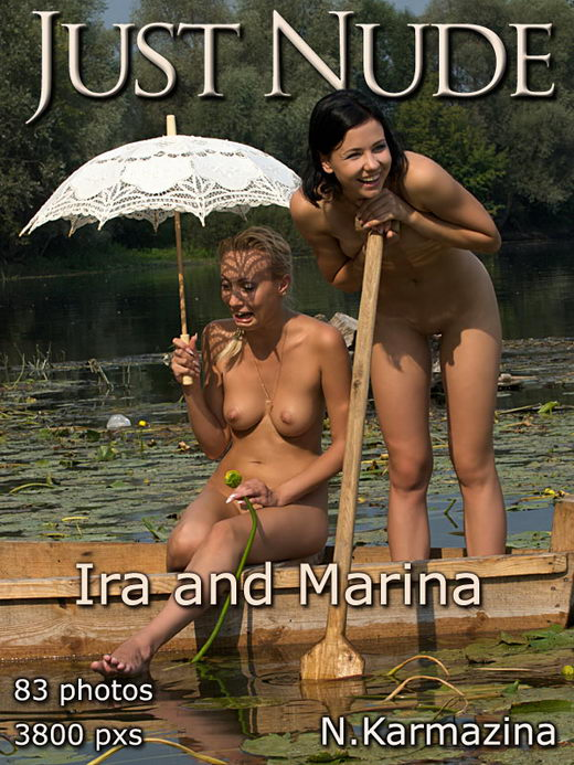 Ira & Marina - `Boat` - by N Karmazina for JUST-NUDE