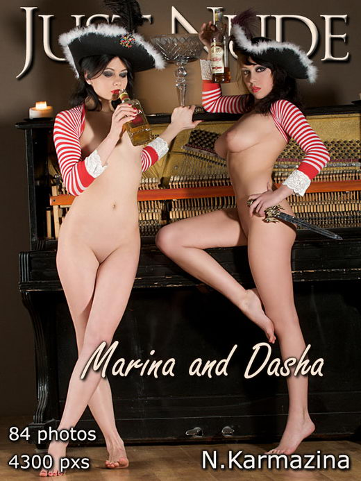 Marina & Dasha - by N Karmazina for JUST-NUDE