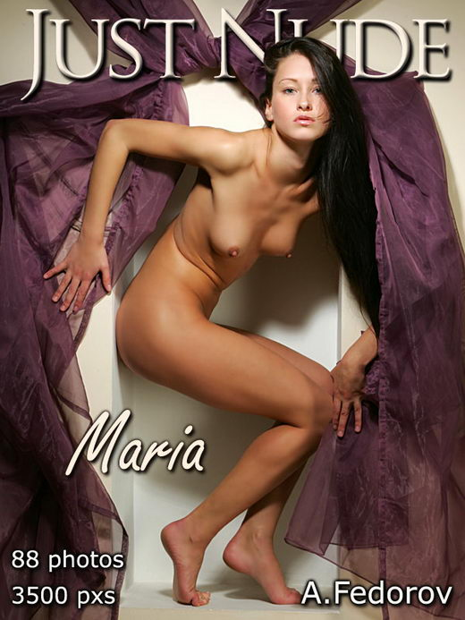 Maria - `Studio` - by Alexander Fedorov for JUST-NUDE