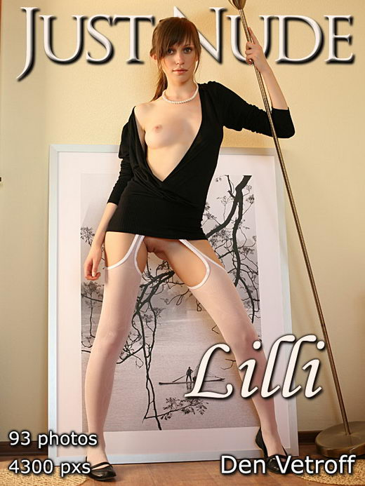 Lilli - by Den Vetroff for JUST-NUDE