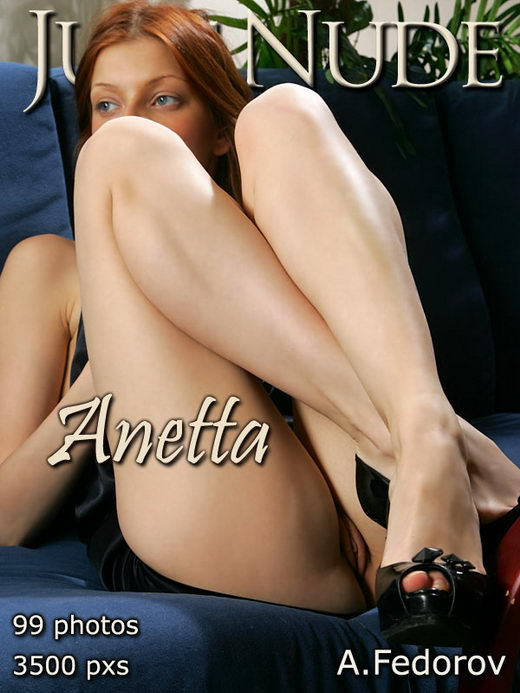 Anetta - `Coffee` - by Alexander Fedorov for JUST-NUDE