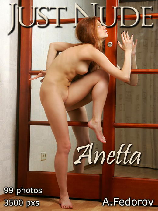 Anetta - `Mirror` - by Alexander Fedorov for JUST-NUDE