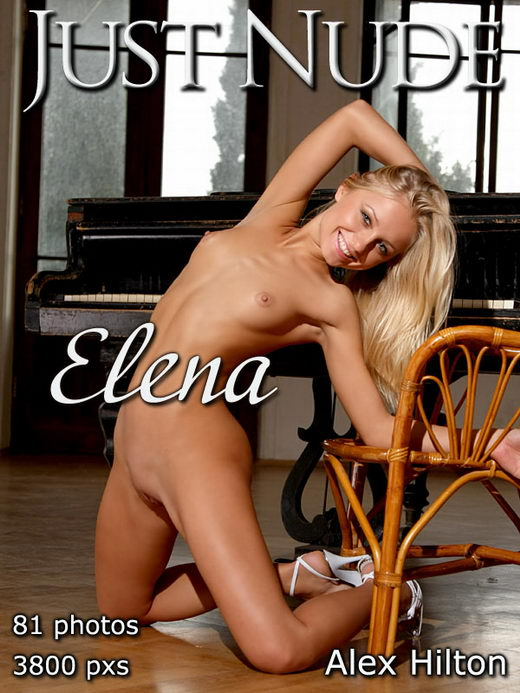 Elena - `Piano` - by Alex Hilton for JUST-NUDE
