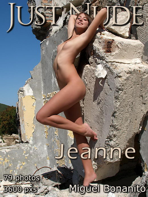 Jeanne - by Miguel Bonanito for JUST-NUDE