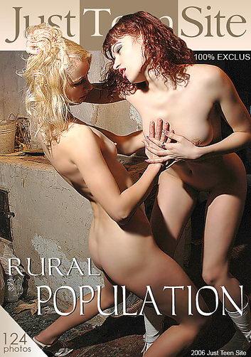 Karinka & Karina - `Rural Population` - by Sergey Tarasov for JUSTTEENSITE