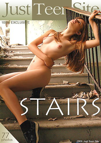 Frosya - `Stairs` - by V Nikonoff for JUSTTEENSITE