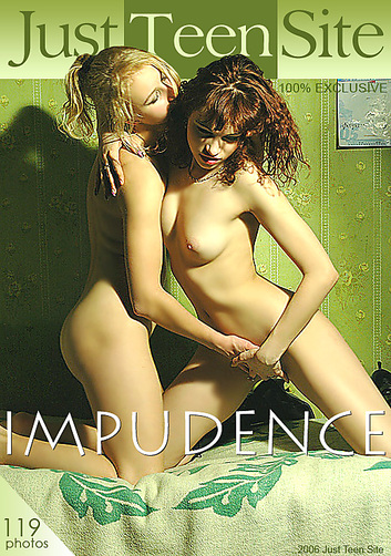 Karinka & Karina - `Impudence` - by Sergey Tarasov for JUSTTEENSITE