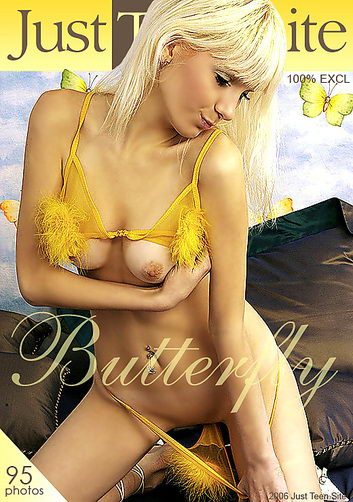 Nicole - `Butterfly` - by Sam Stone for JUSTTEENSITE