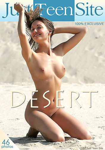 Nina - `Desert` - by Alex Brack for JUSTTEENSITE