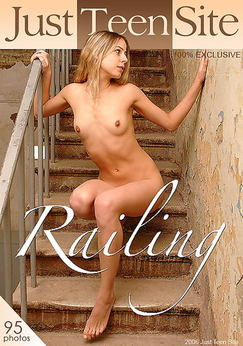 Milana - `Railing` - by Nikita Antonov for JUSTTEENSITE