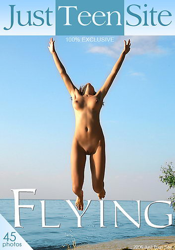 Katrin - `Flying` - by Alex Brack for JUSTTEENSITE