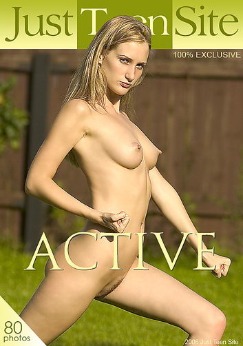 Vlasta - `Active` - by Alexander Lobanov for JUSTTEENSITE