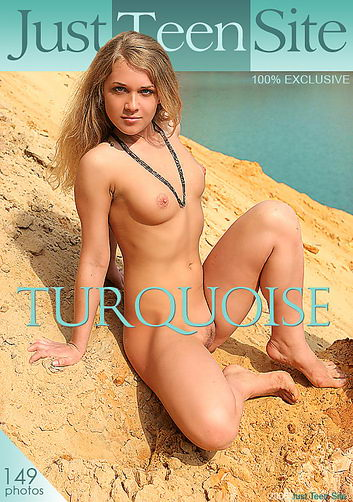 Yanina - `Turquoise` - by Stewart Summer for JUSTTEENSITE
