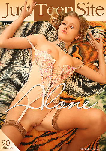 Yana - `Alone` - by Den Rusoff for JUSTTEENSITE
