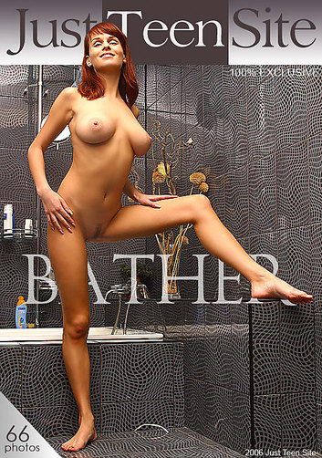 Janna - `Bather` - by Oleg Rublev for JUSTTEENSITE