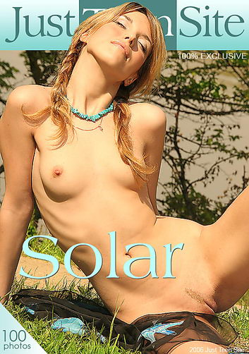 Xeniya - `Solar` - by Davy Moor for JUSTTEENSITE