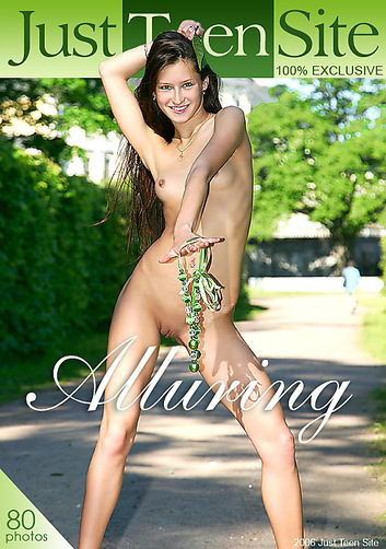 Maria - `Alluring` - by Anton Zarin for JUSTTEENSITE