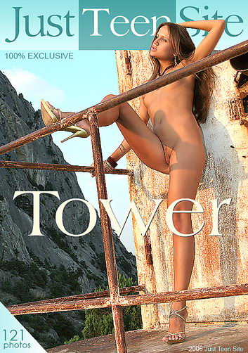 Tanja - `Tower` - by Davy Moor for JUSTTEENSITE