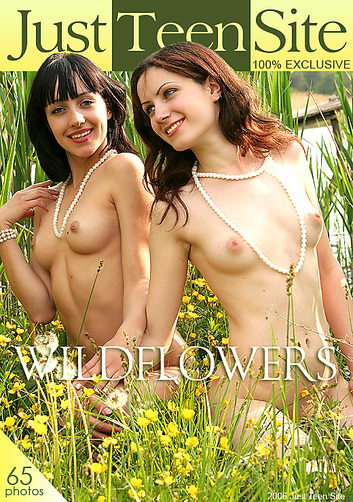Anushka & Ludmila - `Wildflowers` - by Victoria Sun for JUSTTEENSITE