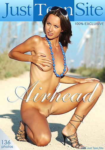 Anna - `Airhead` - for JUSTTEENSITE