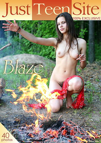 Mari - `Blaze` - by Den Rusoff for JUSTTEENSITE