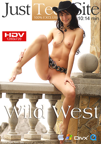 Olga - `Wild West` - by Andrzej Granovski for JUSTTEENSITE