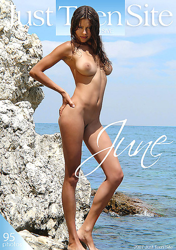 Lena - `June` - by Alex Avertov for JUSTTEENSITE