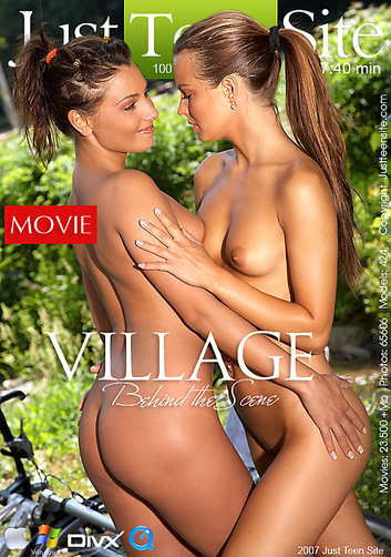 Anetta & Suzie - `Village - BTS` - by Tom Veller for JUSTTEENSITE